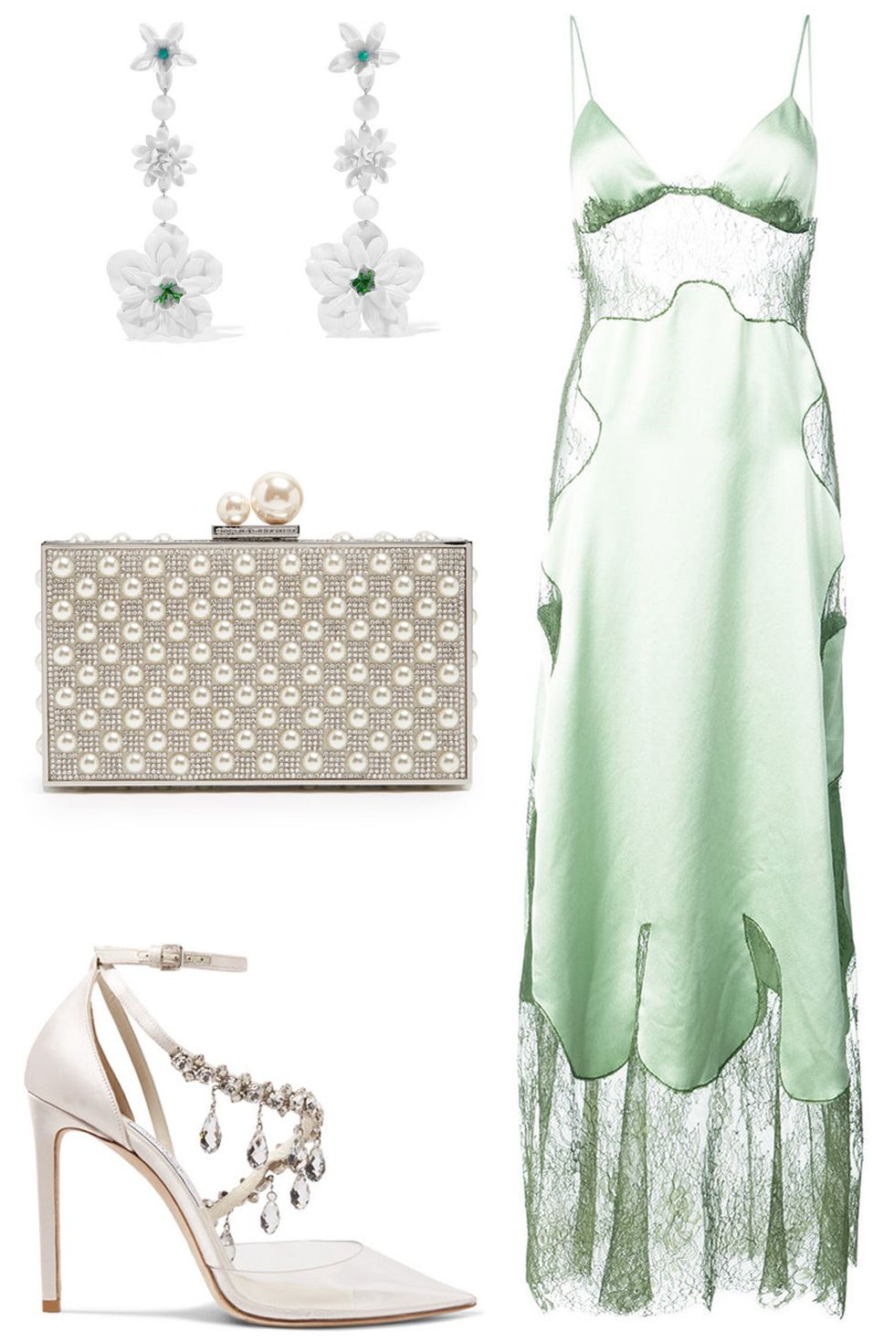 what-to-wear-for-a-summer-wedding-guest-outfit-green-light-dress-slip-white-shoe-pumps-earrings-maxi-dinner.jpg