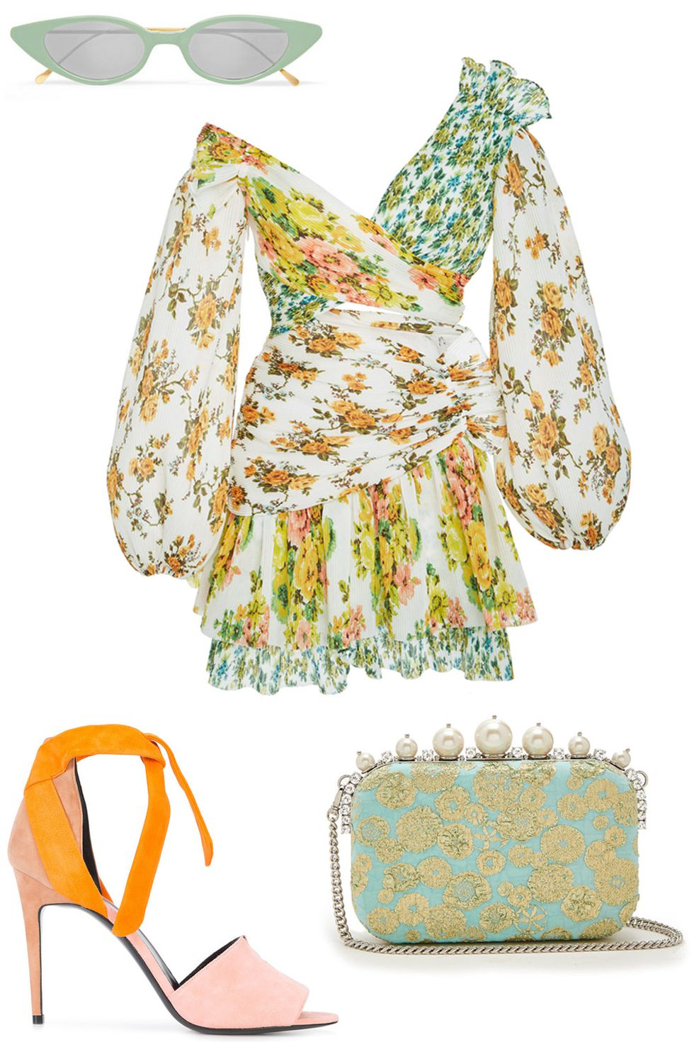 what-to-wear-for-a-summer-wedding-guest-outfit-white-dress-yellow-dress-peasant-print-floral-yellow-shoe-sandalh-sun-dinner.jpg