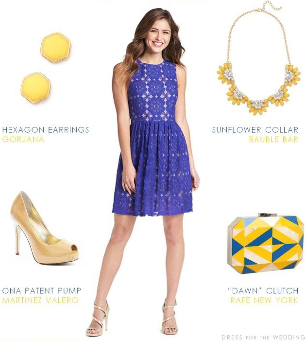 purple-royal-dress-mini-lace-studs-yellow-bag-clutch-necklace-tan-shoe-pumps-wedding-howtowear-fashion-style-outfit-spring-summer-hairr-dinner.jpg