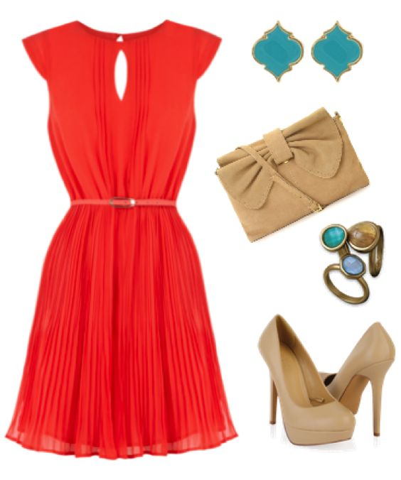 red-dress-skinny-belt-aline-studs-turquoise-tan-shoe-pumps-tan-bag-ring-wedding-howtowear-fashion-style-outfit-spring-summer-dinner.jpg