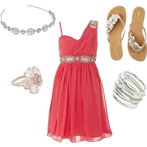 r-pink-magenta-dress-mini-tan-shoe-sandals-bracelet-ring-head-oneshoulder-howtowear-fashion-style-outfit-spring-summer-wedding-dinner.jpg