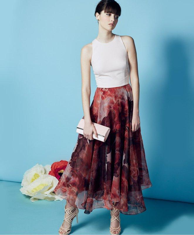 what-to-wear-for-a-summer-wedding-guest-outfit-burgundy-midi-skirt-print-white-top-hairr-tan-shoe-sandalh-dinner.jpg