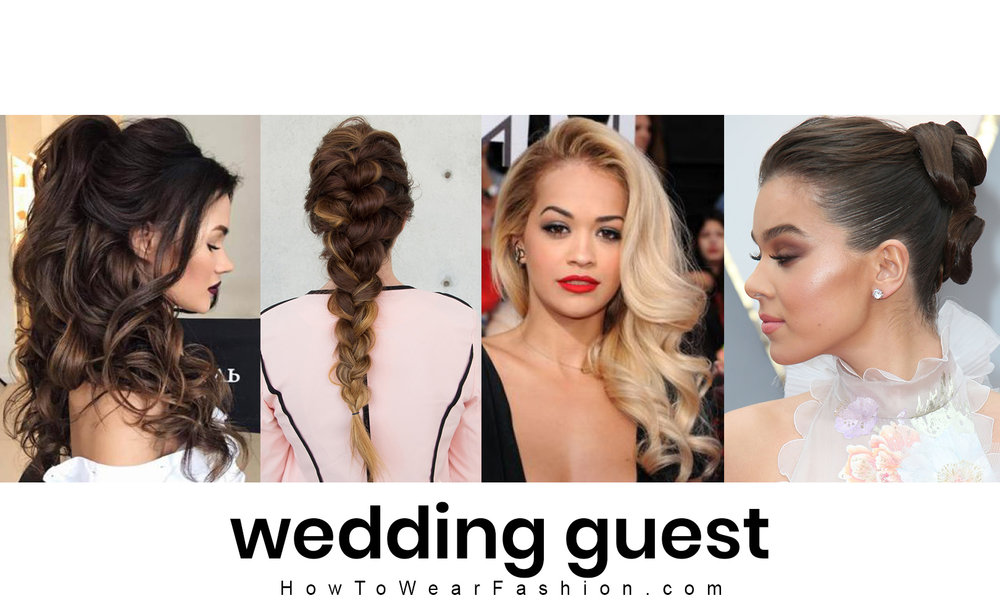 How to do your hair for a wedding - see all the ideas for wedding guest hairstyles here!