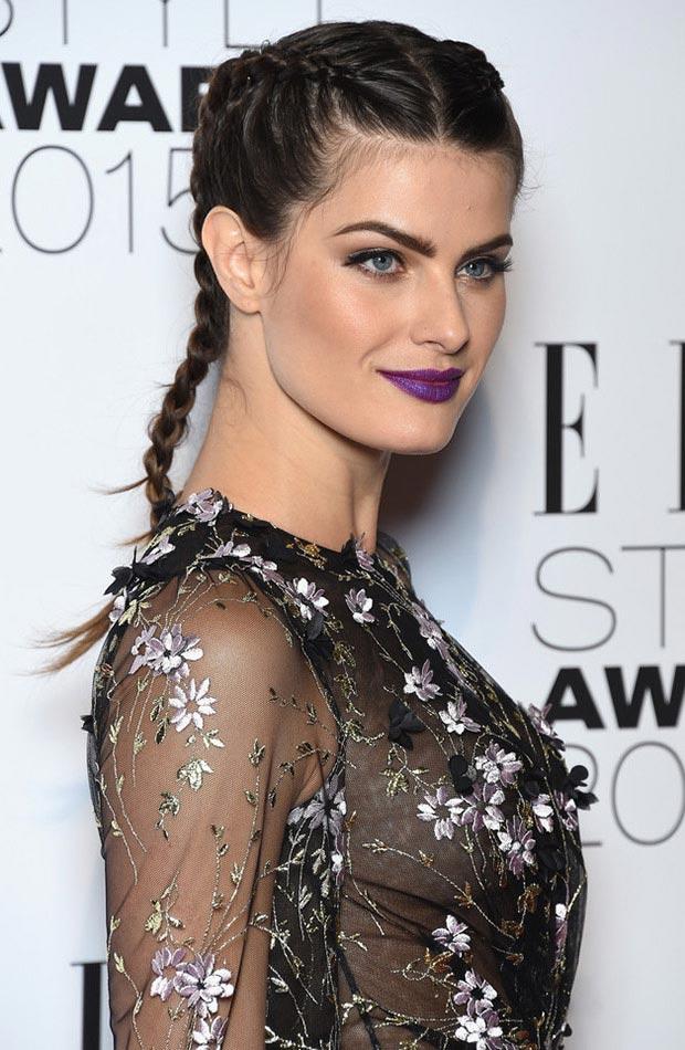 wedding-guest-hair-boxer-braids-style-beauty-brunette-purple-lips-red-carpet.jpg