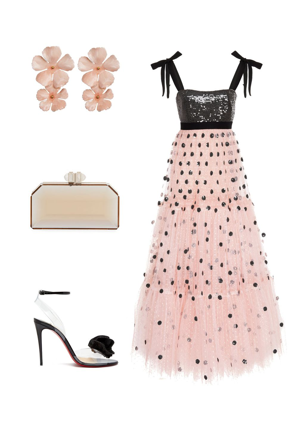 what-to-wear-for-a-fall-wedding-guest-outfit-autumn-fairytale-pink-light-dress-maxi-gown-earrings-black-shoe-sandalh-dinner.jpg