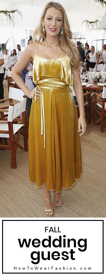 Wedding Guest Fall Howtowear Fashion