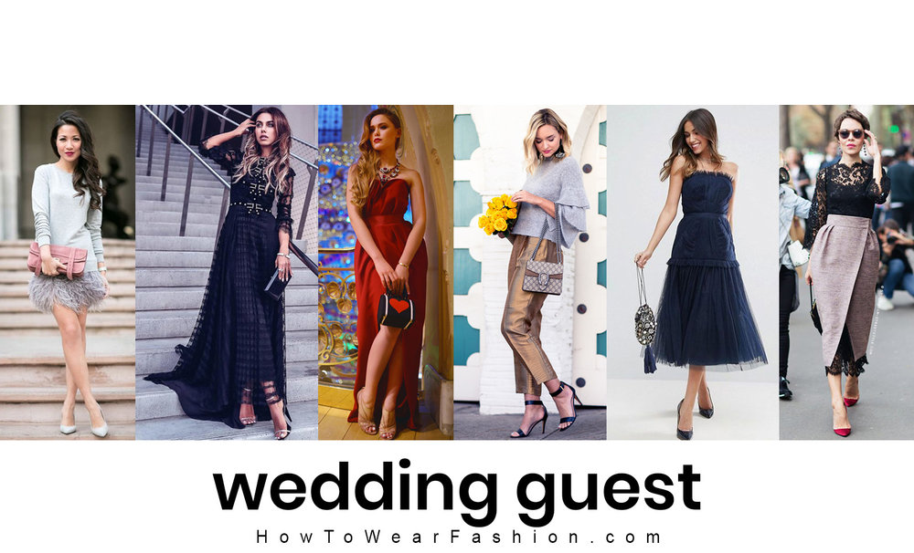 What to wear for attending a winter wedding - here's how to style your wedding guest outfit in December, January or February!