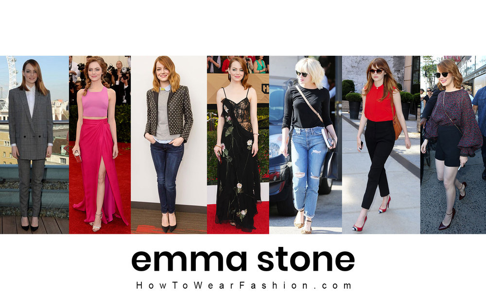 Emma Stone's fashion style! See all her best outfit looks here.