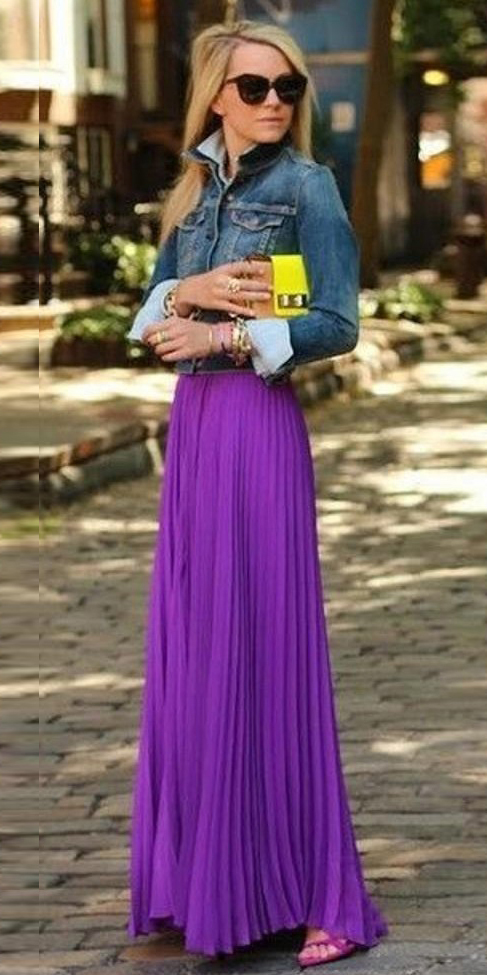 blue-med-jacket-jean-blonde-yellow-bag-purple-royal-maxi-skirt-spring-summer-lunch.jpg