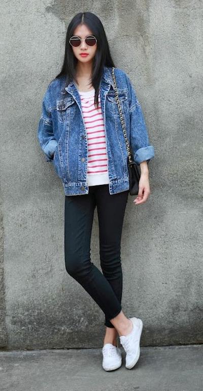 86116fd315 black-skinny-jeans-red-tee-stripe-blue-med-
