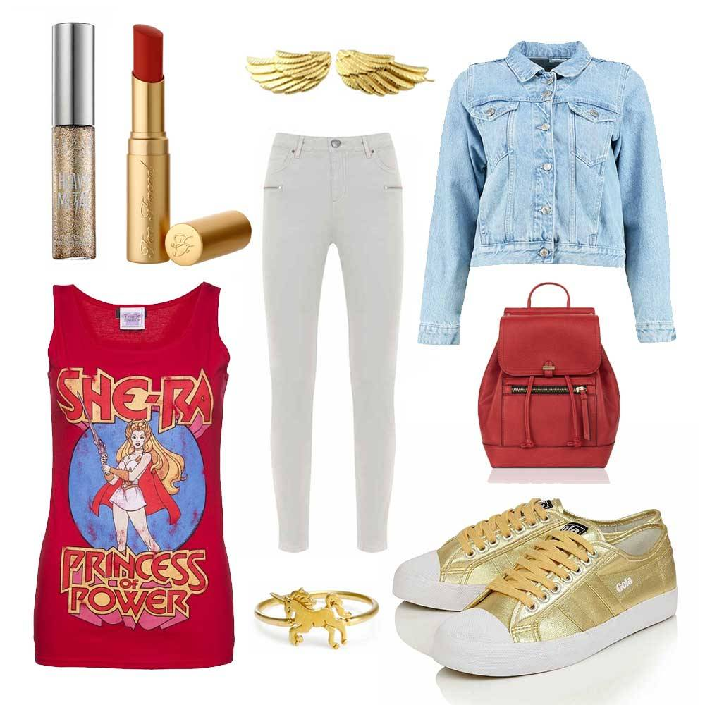 white-skinny-jeans-red-graphic-tee-tan-shoe-sneakers-gold-blue-light-jacket-jean-red-bag-pack-spring-summer-weekend.jpg