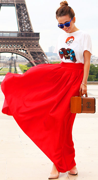 white-graphic-tee-sun-hairr-bun-cognac-bag-red-maxi-skirt-spring-summer-lunch.jpg