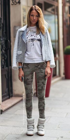 green-olive-skinny-jeans-camo-print-white-graphic-tee-gray-shoe-sneakers-grayl-jacket-moto-spring-summer-blonde-weekend.jpg