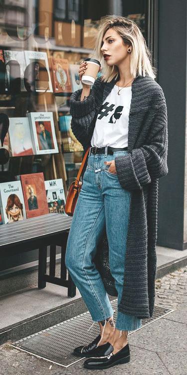 blue-light-crop-jeans-belt-grayd-cardiganl-blonde-lob-black-shoe-loafers-cognac-bag-white-graphic-tee-fall-winter-weekend.jpg