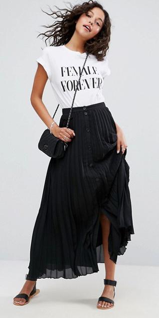 white-graphic-tee-black-bag-brun-black-shoe-sandals-black-maxi-skirt-spring-summer-weekend.jpg