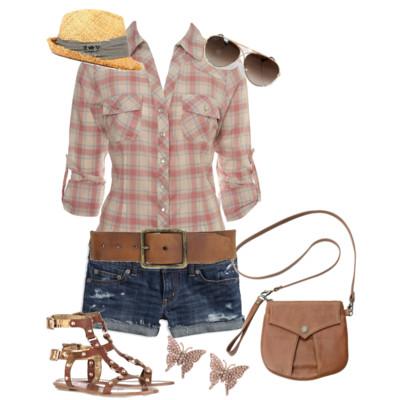 blue-med-shorts-r-pink-light-plaid-shirt-cognac-bag-cognac-shoe-sandals-belt-hat-straw-sun-studs-western-howtowear-fashion-style-outfit-spring-summer-camp-denim-weekend.jpg