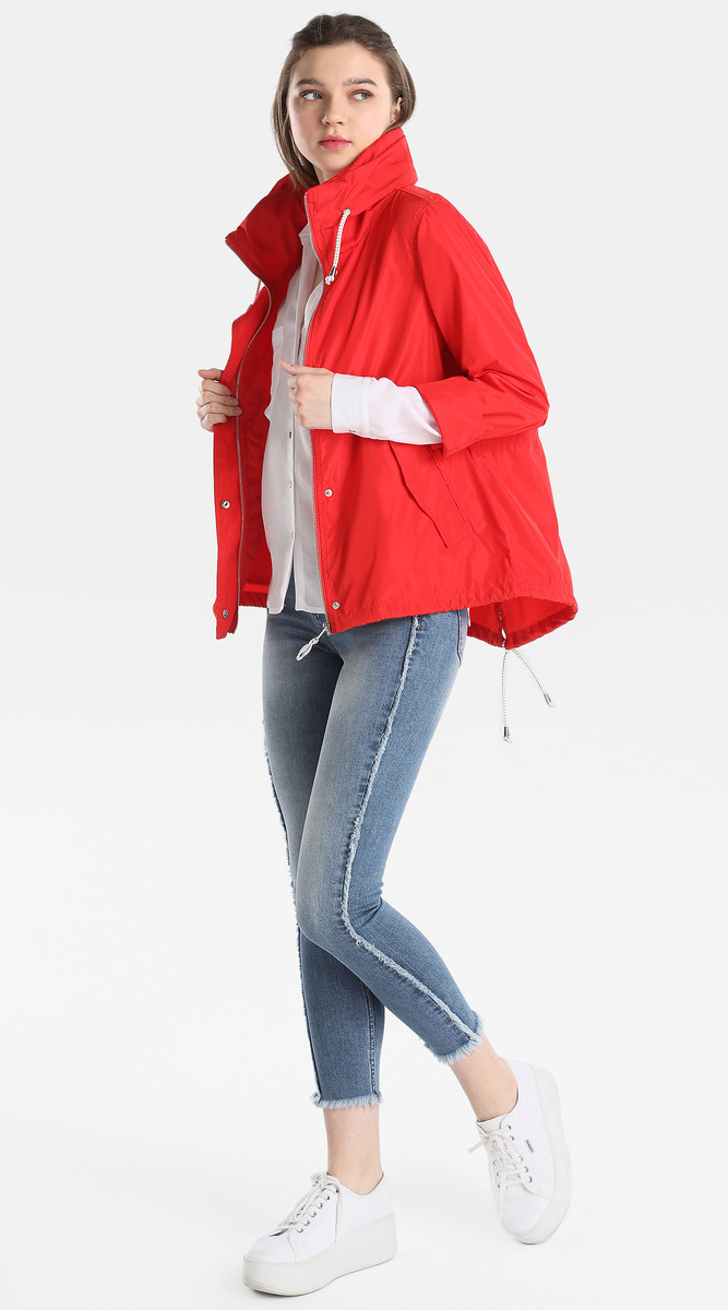 blue-light-skinny-jeans-white-shoe-sneakers-white-collared-shirt-red-jacket-coat-parka-fall-winter-outfit-weekend.jpg