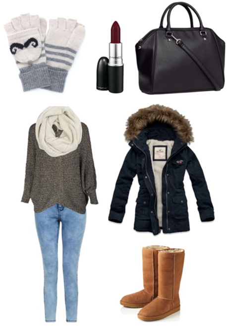 blue-light-skinny-jeans-grayd-sweater-blue-navy-jacket-coat-parka-white-scarf-howtowear-fashion-style-outfit-fall-winter-cognac-shoe-boots-uggs-gloves-black-bag-weekend.jpg