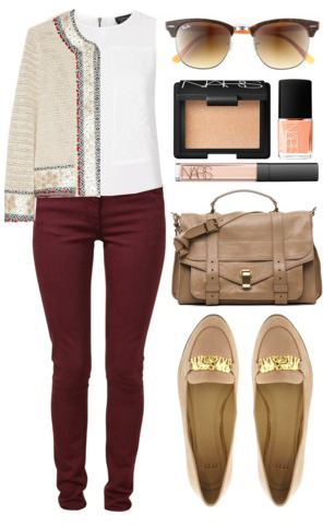 r-burgundy-skinny-jeans-white-top-tan-jacket-lady-tan-shoe-loafers-tan-bag-sun-nail-howtowear-fashion-style-outfit-spring-summer-work.jpg