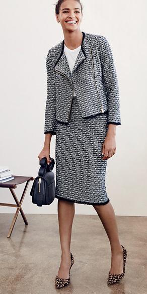grayl-pencil-skirt-white-tee-bun-grayl-jacket-lady-black-bag-tan-shoe-pumps-leopard-howtowear-style-fashion-spring-summer-tweed-suit-brun-work.jpg