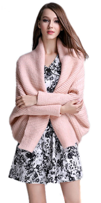 0b64c86ea4 white-dress-print-mini-pink-light-cardiganl-howtowear-