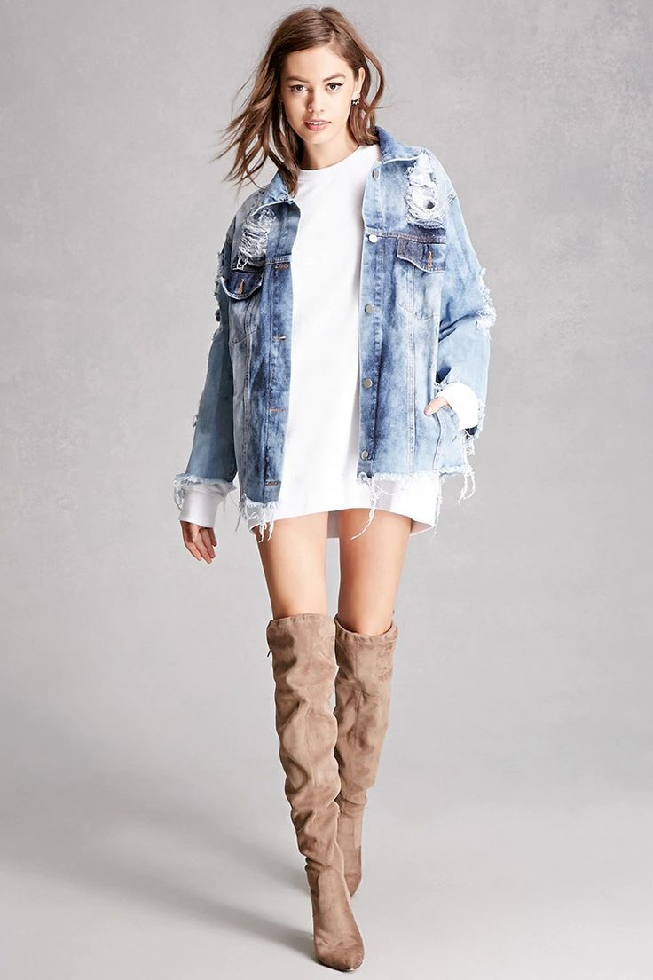 22d87738965 White Dress And Denim Jacket Outfit - Gomes Weine AG