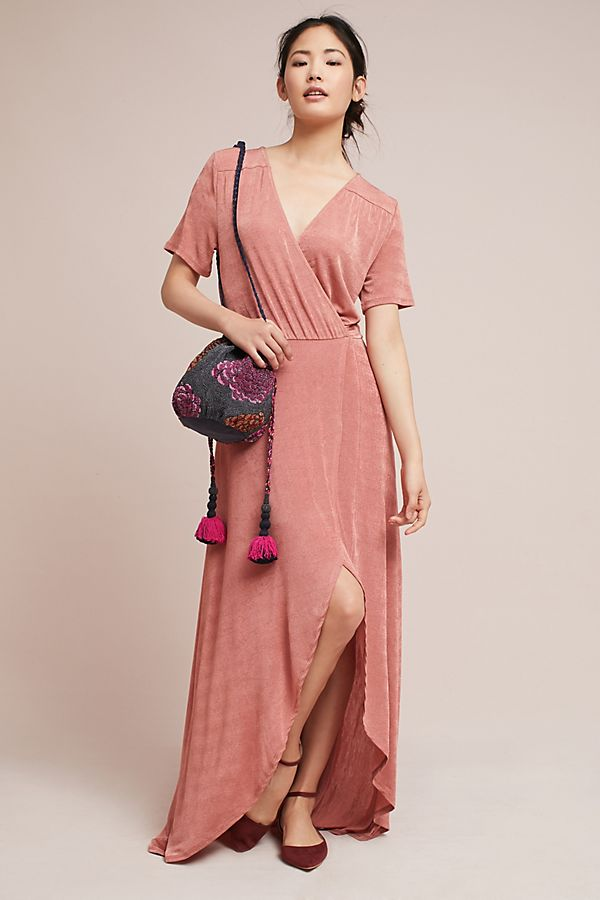 5765b80eee pink-light-dress-wrap-maxi-purple-bag-burgundy-