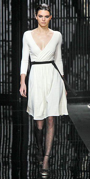 White Wrap Dresses Howtowear Fashion