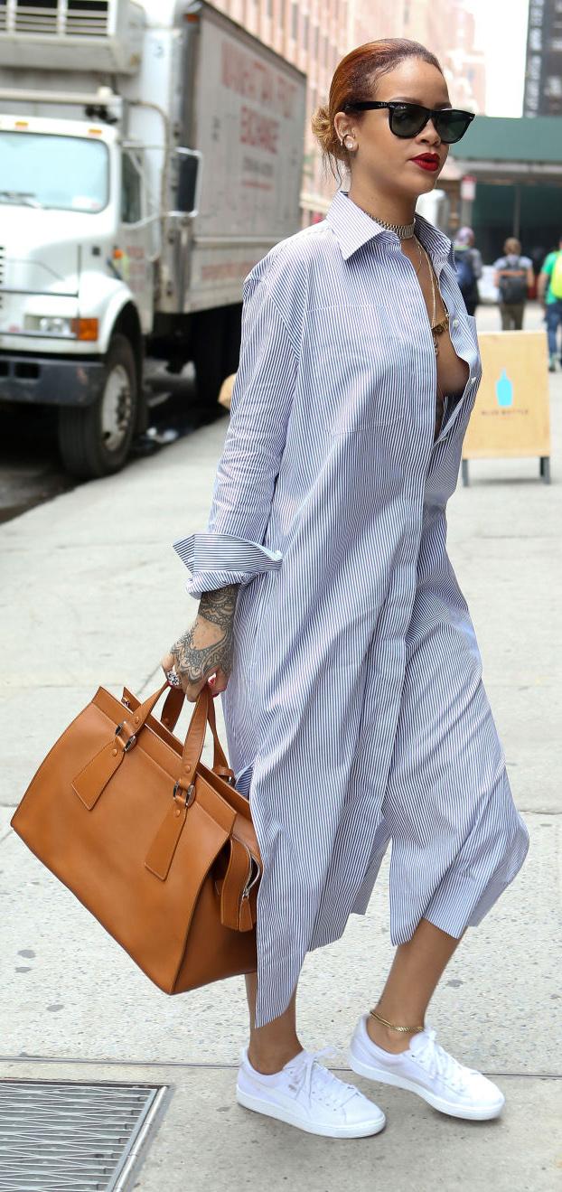 17dfb9251c15 blue-light-dress-a-cognac-bag-white-shoe-