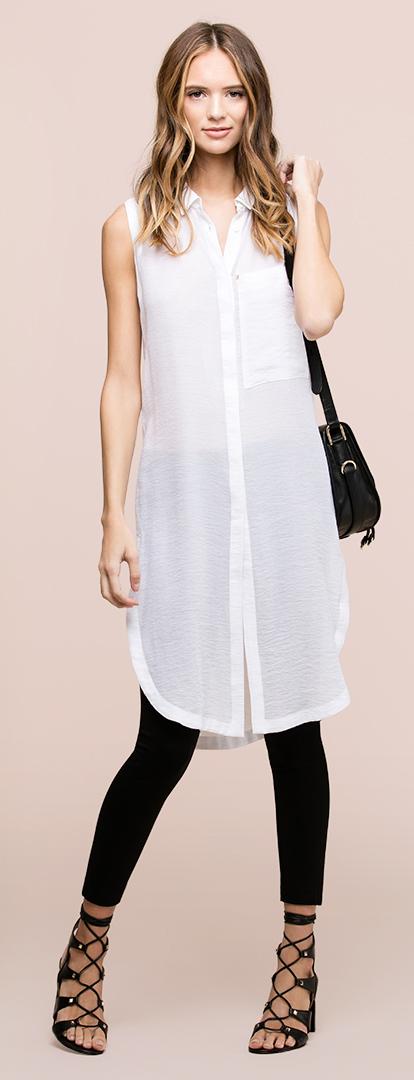 White Shirt Dresses Howtowear Fashion
