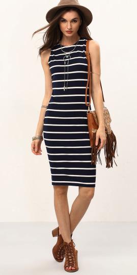 black-dress-zprint-stripe-cognac-shoe-sandalh-hat-cognac-bag-necklace-turquoise-bodycon-howtowear-fashion-style-outfit-spring-summer-lunch.jpg