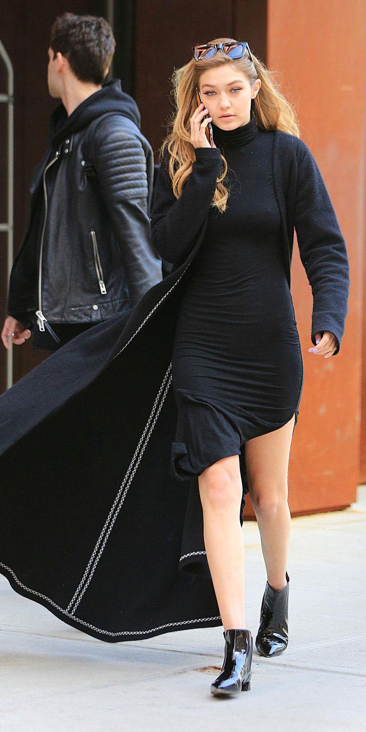 black-dress-black-cardiganl-duster-black-shoe-booties-bodycon-wear-style-fashion-fall-winter-turtleneck-gigihadid-model-sun-blonde-lunch.jpg
