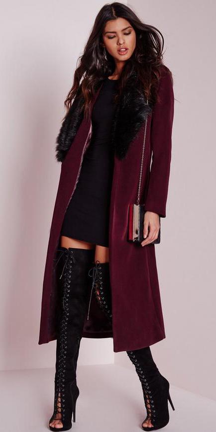 black-dress-bodycon-burgundy-jacket-coat-black-shoe-boots-otk-laceup-thigh-fall-winter-brun-dinner.jpg