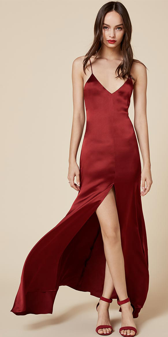 568aac0e798 red-dress-slip-maxi-red-shoe-sandalh-howtowear-