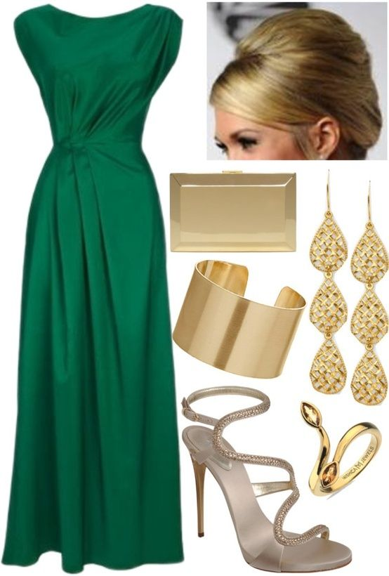 Emerald Green Maxi Dresses How To Wear