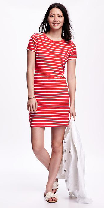 be34226d7f1e Cherry red T-shirt dresses | HowToWearFashion.com