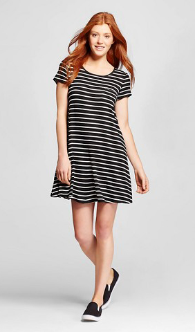 c196dbf364a8 black-dress-zprint-stripe-black-shoe-sneakers-tshirt-