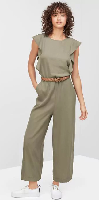 828385b039ed green-olive-jumpsuit-belt-white-shoe-sneakers-howtowear-