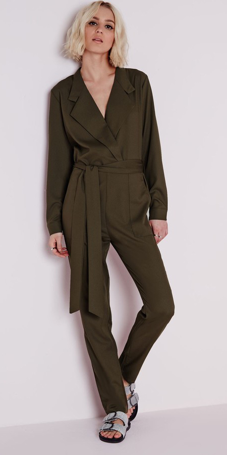 35409248a88a green-olive-jumpsuit-white-shoe-sandals-howtowear-fall-
