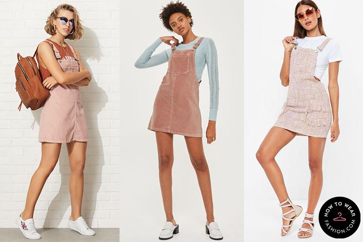d57547c5c23 Pastel pink jumper dresses