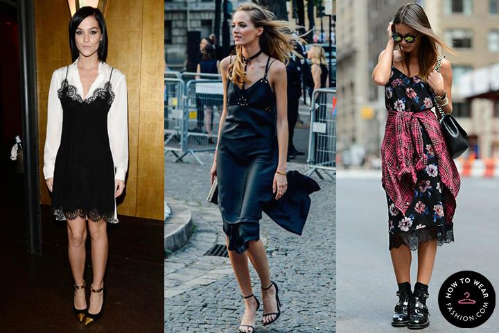 4e7e31f19c8 Black slip dresses