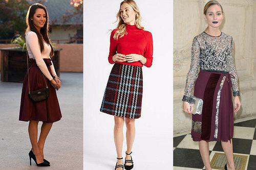 How To Wear A Line Skirts Howtowear Fashion