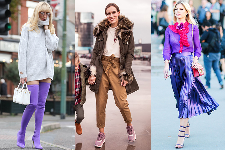 How to wear purple shoes | HOWTOWEAR
