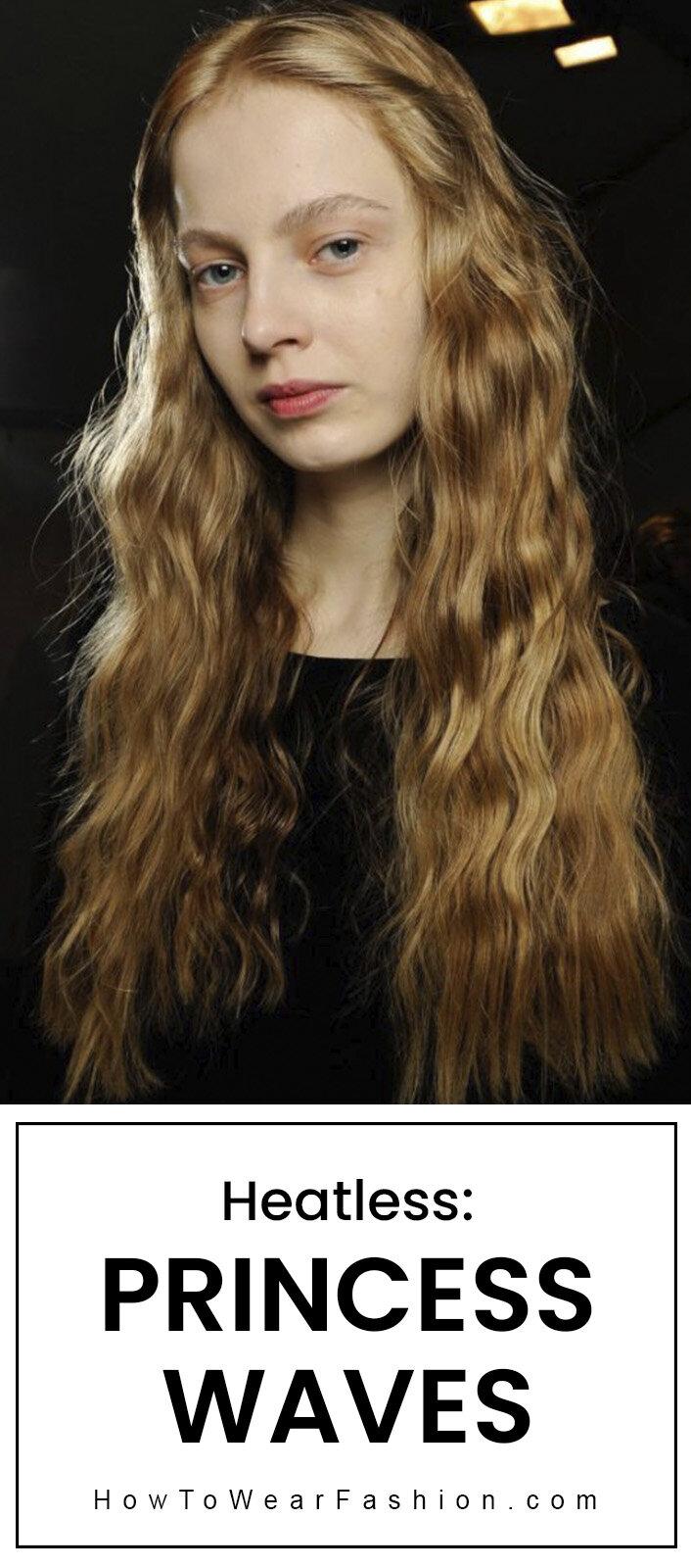 Heatless Hair Princess Waves Howtowear Fashion