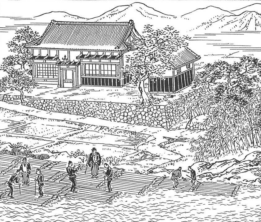 Yoshino in 17th Century - Yoshino Cultural Association, 1986.