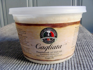 caputo curds in tub