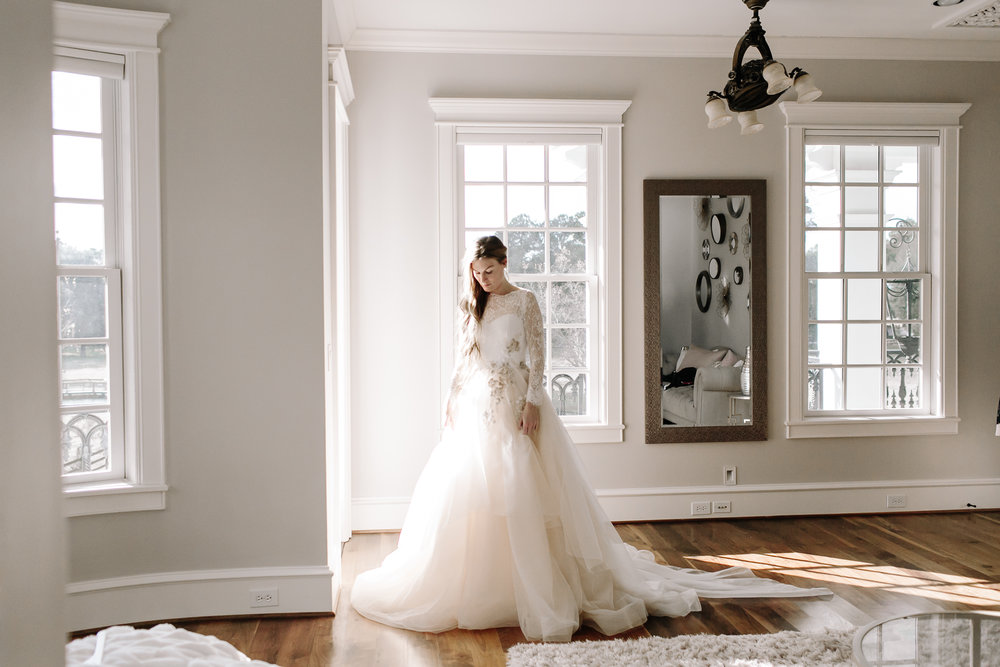 State-of-the-art bride & groom suites - because you deserve it