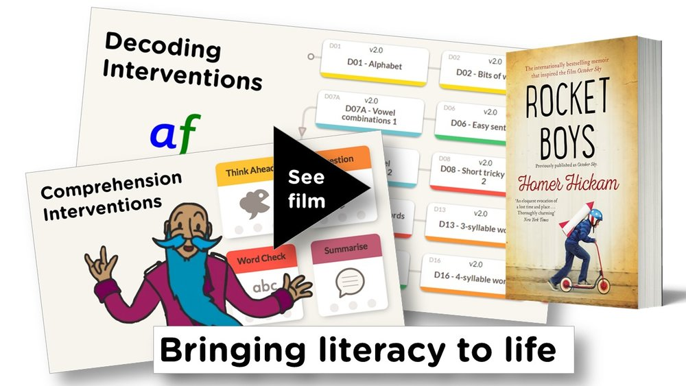 Literacy interventions  overview