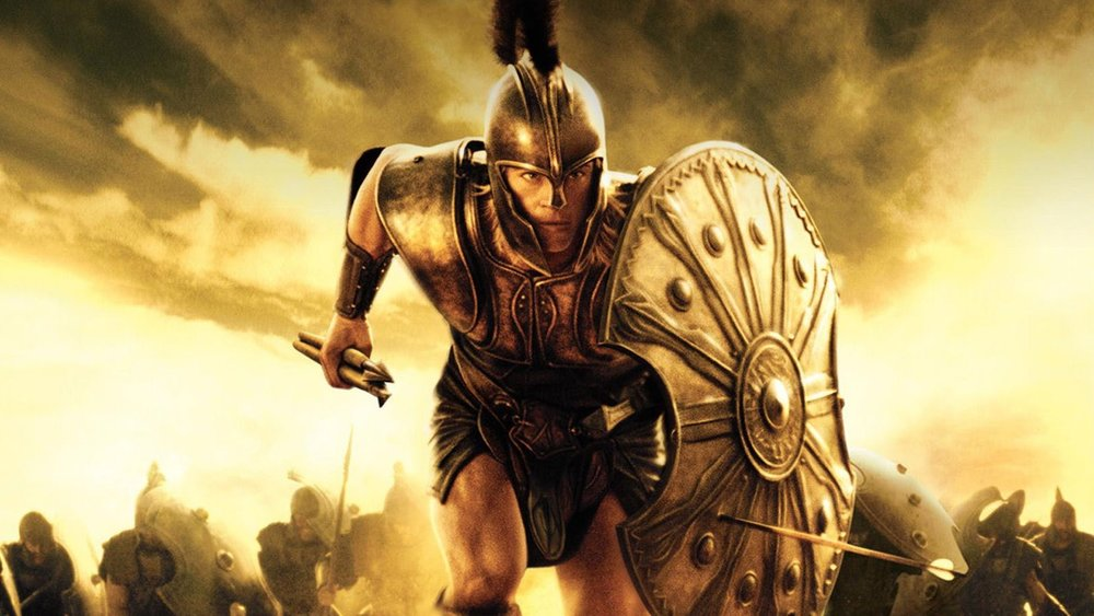 Achilles from the movie  Troy, 2004.