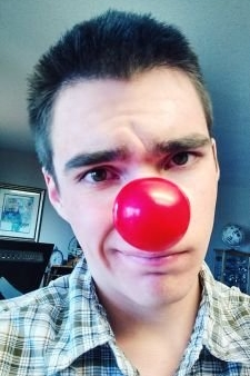 Ben, one week late to red nose day.circa. 2015